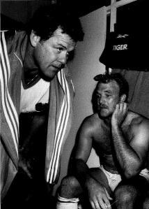 Bob McCarthy & Wally Lewis