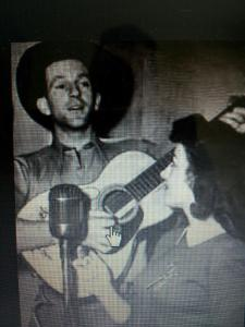 'Sister Dorrie' and Tex Morton. Born Dorothy May Ricketts, 'Sister' Dorrie was my great Aunty.