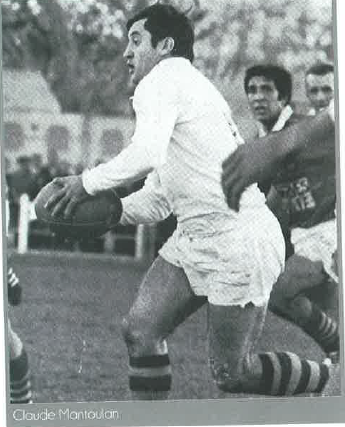 Claude Mantoulan in action for Catalans in the 1960s