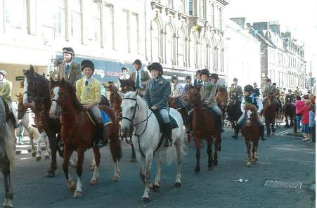 The Common Riding at Hawick in the Scottish Borders