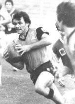 Wayne Lindenberg in action for Easts