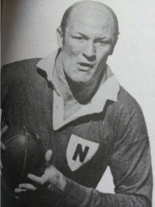 Brian 'Chicka' Moore in his Newtown gear.