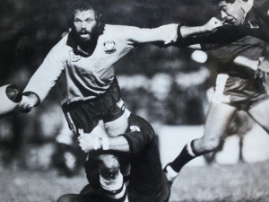 Noel Cleal in action for NSW