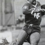 Doug Muir in action for Brisbane club, Valleys