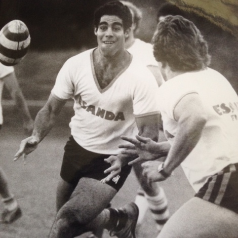 Neil Wharton in his Brisbane Wests' days
