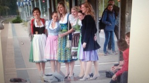 Hens' party German style