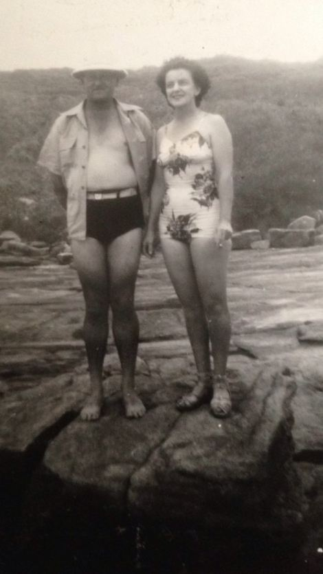 My grandparents, William and Eve Ricketts at Yamba